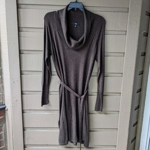 Mossimo Soft Brown Sweater Dress